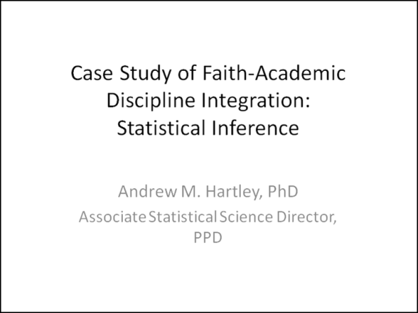 Hartley Lecture
