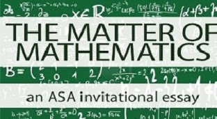 matter of mathematics