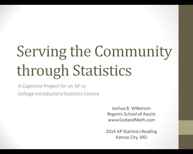 serving through statistics image