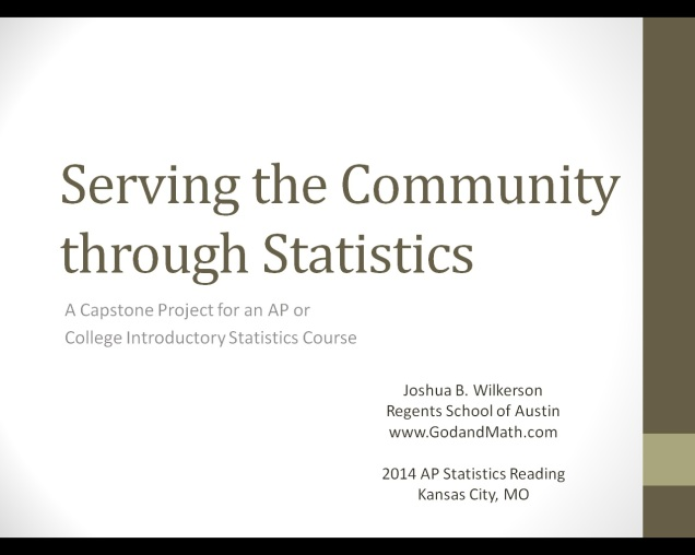 serving through statistics image