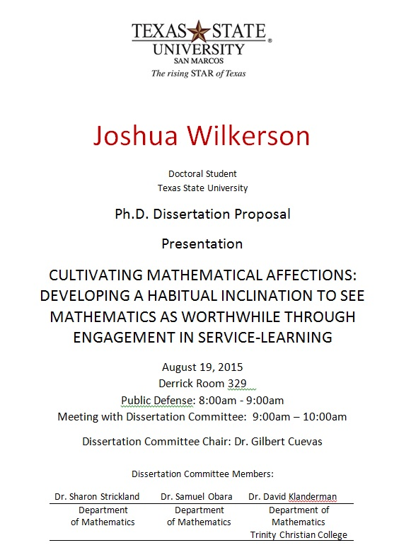 mathematics ph d dissertations Earlier this week i read through my phd dissertation my research was in an area of pure mathematics called functional analysis which, in short, meant it was self-motivated and void of tangible.